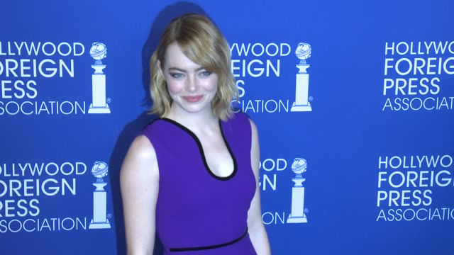 Emma Stone at Hollywood Foreign Press Association's Grants Banquet in Los Angeles CA
