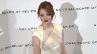 Emma Stone at National Board of Review Awards Gala Red Carpet at Cipriani 42nd Street on 1/10/2012 in New York City NY