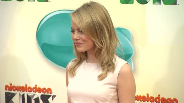 Emma Stone at Nickelodeon's 25th Annual Kids' Choice Awards on 3/31/2012 in Los Angeles CA