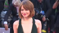 Emma Stone at Opening Night Gala 'Birdman' Red Carpet 71st Venice International Film Festival at Palazzo del Casino on August 27 2014 in Venice Italy