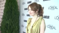 Emma Stone at the GLAMOUR Magazine's 21st Annual Women Of The Year Awards at New York NY
