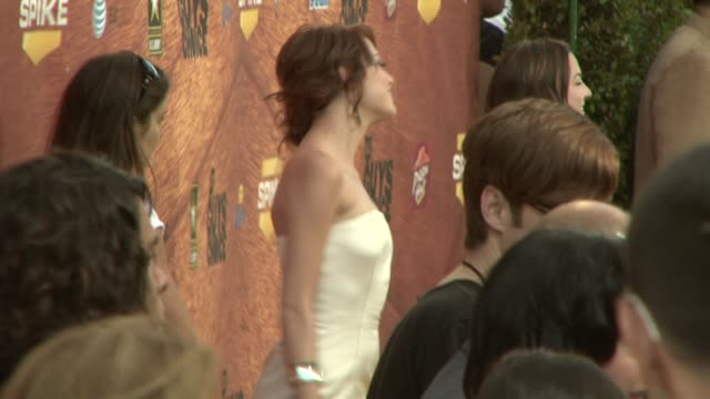 Emma Stone at the Spike TV's 2nd Annual Guys' Choice Awards at Sony Studios in Los Angeles California on May 31 2008