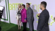 Emma Stone Steve Carell and Billie Jean King at the 'Battle of the Sexes' Los Angeles Premiere Presented By Fox Searchlight at Regency Village...
