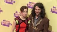 Emma Watson and Ezra Miller at 2012 MTV Video Music Awards on 9/6/2012 in Los Angeles CA