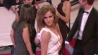 Emma Watson at the 'American Woman Fashioning A National Identity' Met Gala Arrivals at New York NY