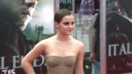Emma Watson at the 'Harry Potter And The Deathly Hallows Part 2' New York Premiere Arrivals at New York NY
