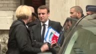 Emmanuel Macron kicks off another day of campaigning 12 days before the second round of the French presidential campaign