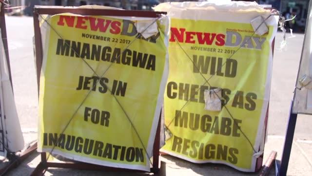 Emmerson Mnangagwa exvicepresidente de Zimbabue sera investido presidente el viernes segun informo el miercoles el Parlamento