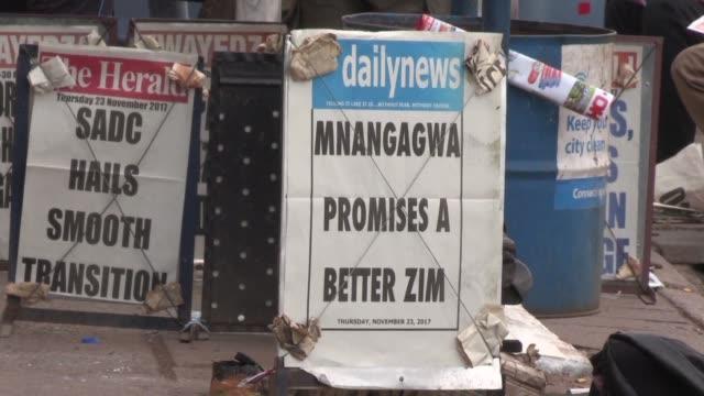 Emmerson Mnangagwa se dispone a asumir el poder en Zimbabue en reemplazo de Robert Mugabe y promete ponerse a trabajar de inmediato en la...