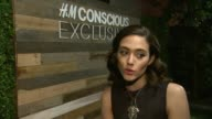 INTERVIEW Emmy Rossum on what brings her out why she loves HM what she loves about HM sustainability efforts what she loves about the Conscious...