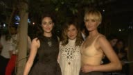 Emmy Rossum Sophia Bush Amber Valetta at HM Conscious Exclusive Dinner in Los Angeles CA