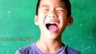 Emotion Asian Boy