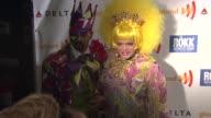 Emperor XX Vanity Society and Empress XXV Pepperica Swirl at the GLAAD Manhattan Brazilian Carnival at New York NY