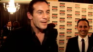 Empire Film Awards 2009 GVs of Jason Isaacs Jason Isaacs interview SOT on accepting the best director award for Christopher Nolan why The Dark Knight...