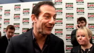 Empire Film Awards 2009 Jason Isaacs interview SOT on films he enjoyed and what film he would like to have been in on Wall E on the prizes on what he...