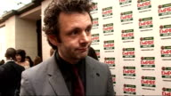 Empire Film Awards 2009 Michael Sheen interview SOT on his designer stubble who he's rooting for how he'd love to be a Bond baddie playing Blair...