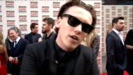 red carpet arrivals / winners room Bonnie Wright interview SOT / Jamie Campbell Bower interview SOT / Ben Wheatley interview SOT / Jeremy Irvine...
