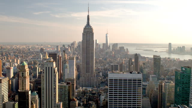 Empire state building en Manhattan