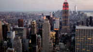 Empire state building e a Manhattan