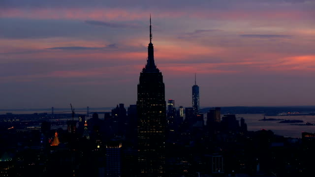 Empire State Building sunset, New York City