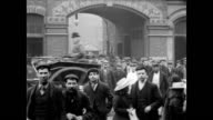 1900 - Employees leave Robey's Works factory