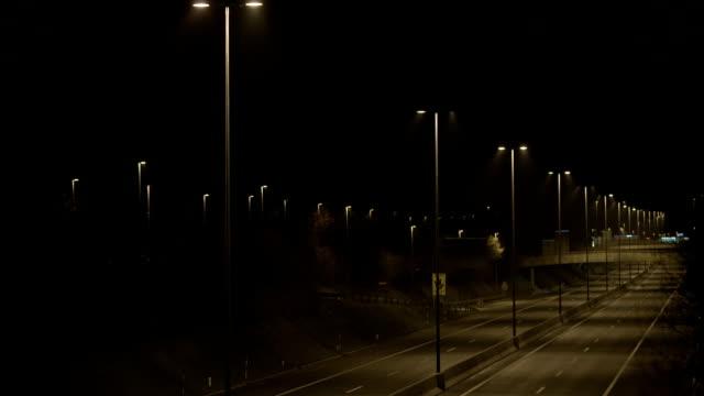 Empty Beltway At Night
