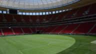 Empty Estádio Nacional Mané Garrincha