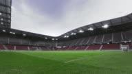 DS Empty football field