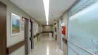 Leere Krankenhaus-Korridor