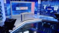 CS Empty news studio
