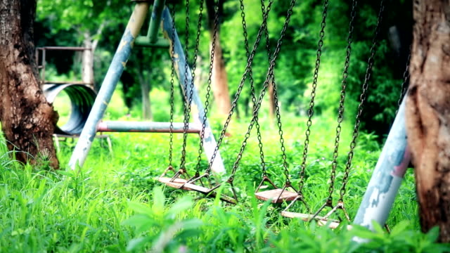 Empty swing, Slow motion