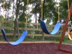 Empty Swings on a Playground 4 NTSC