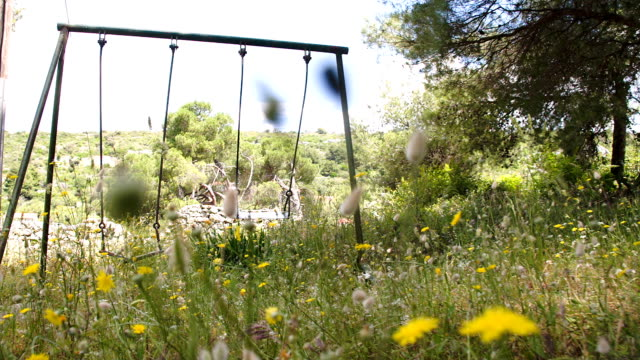 SLO MO Empty Swings