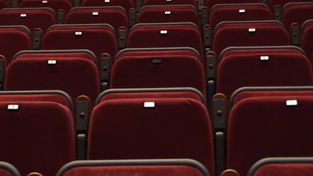 Empty Theatre seats 2 - HD & PAL