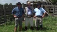 En Argentina la mitica figura del gaucho se ve amenazada por el cultivo de soja que avanza en desmedro de la cria de ganado VOICED Gauchos argentinos...