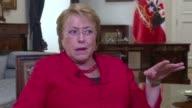 En entrevista exclusiva con AFP la presidenta Michelle Bachelet dijo esperar que el nuevo presidente de Estados Unidos mantenga una relación...