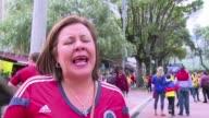 En un ambiente mas futbolistico que electoral Colombia celebro el triunfo 30 contra Grecia