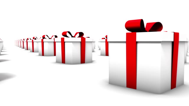 Endless Gift Boxes low angle loop