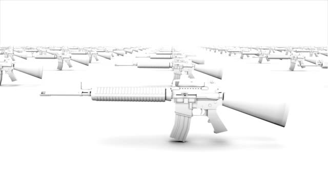 Endless Rifles front view loop