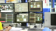 Engineer in control room