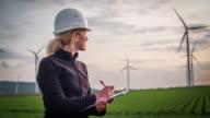 Engineer Inspects Wind Turbines - Women in STEM