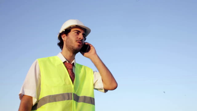 Engineer on the Phone