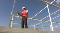 Engineer supervisor at site inspection