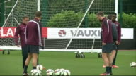 England beat Norway in international friendly 192014 Hertfordshire London Colney EXT England players including Wayne Rooney and Jack Wilshere along...