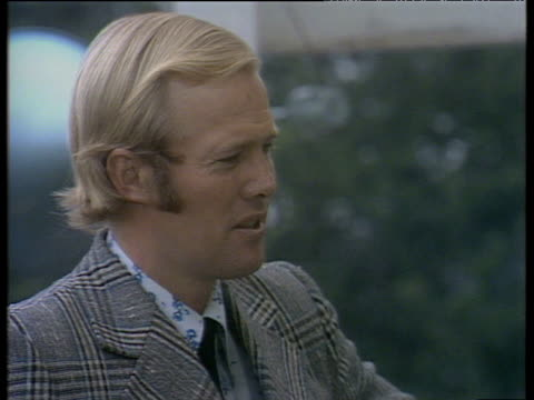 England captain Tony Greig speaks of his disappointment at match abandonment due vandalism of wicket England vs Australia Ashes Test Match 19 Aug 75