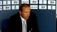 England cricketers press conference after winning Twenty20 championship Andy Flower SOT he was disappointed not to be selected he is chomping at the...