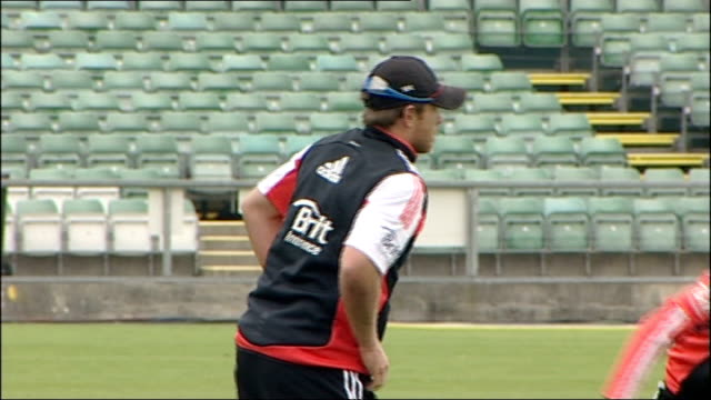 England net practice ahead of oneday match against India England cricket training session continued including close shots of Craig Kieswetter...