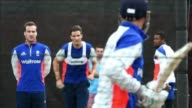 England prepare for a Cricket World Cup clash against their border rival Scotland after suffering a humiliating eight wicket defeat by New Zealand...