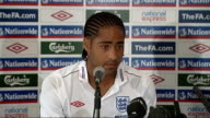 England press conference ahead of international friendly against Holland ENGLAND Hertfordshire Grove Hotel THROUGHOUT*** Glen Johnson press...