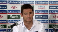 England press conference ahead of international friendly against Holland Frank Lampard press conference continued SOT great to have a good...